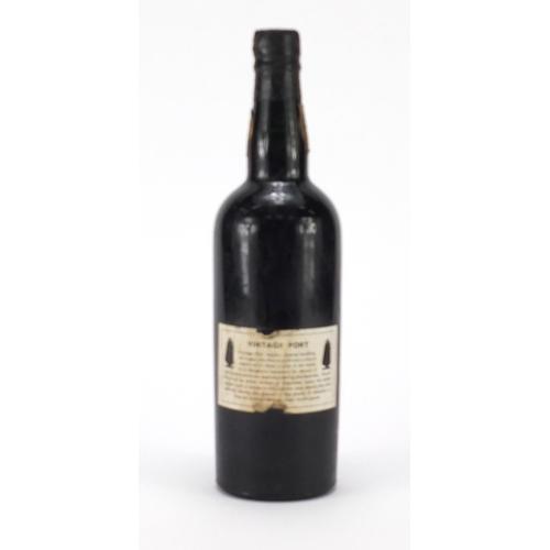 2057 - Bottle of 1966 Sandeman vintage port...