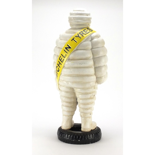 2025 - Large cast iron Michelin Tyres advertising figure, 58cm high...
