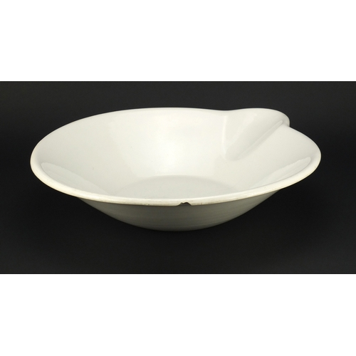 2042 - Victorian milk pan by The Dairy Supply Co, factory marks to the base, 58.5cm in length