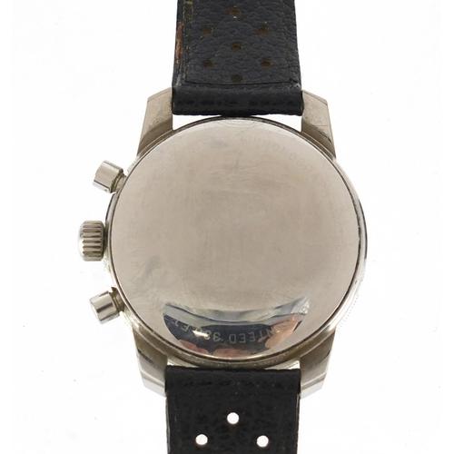 704 - Gentleman's Heuer Autavia Skipper chronograph wristwatch, numbered 133862 - 7763 between the lugs 4....