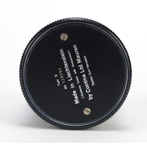 11 - Curta type II calculator with case, numbered 529094...