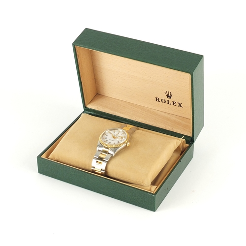 703A - Rolex Oyster Date Perpetual Superlative Chronometer wristwatch, with box and certificate numbered s2...