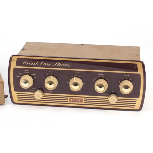 57 - Vintage Point One Stereo and a Leak amplifier...