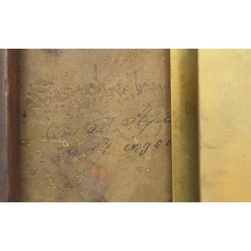 49 - Victorian mahogany fusee wall clock, the circular dial inscribed kleyser & Co of London, 36cm in dia...