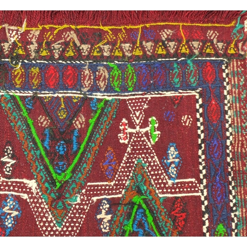 2010 - Rectangular Turkish Fethiye Cicim Kilim rug, 170cm x 131cm