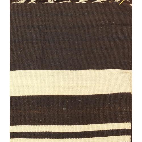 2023 - Rectangular Tulu Siirt blanket/rug, 208cm x 130cm