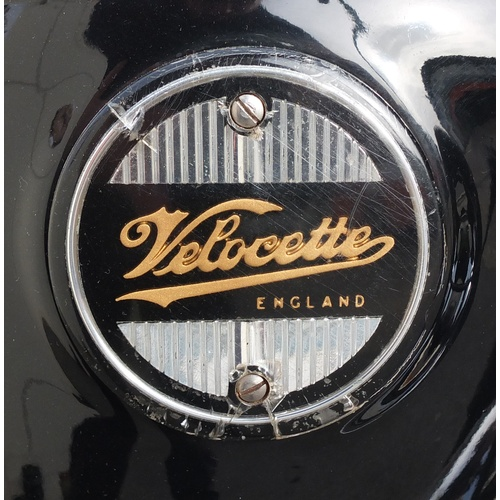 2019 - Velocette Viper 350cc, 1960 with original number plate...