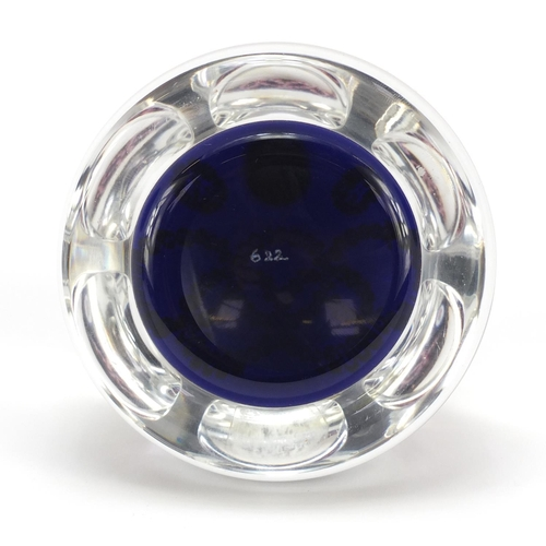 13 - Whitefriars Montreal millefiori glass paperweight with paper label, numbered 622, 8.5cm in diameter...