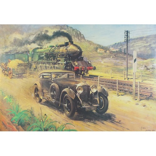 1204 - Terence Cuneo - Bentley V '