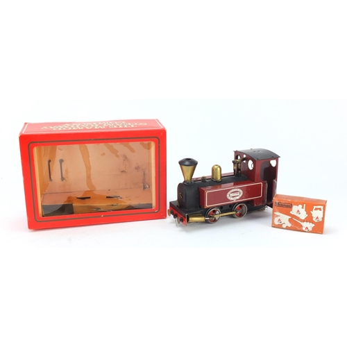 890 - Mamod steam train locomotive with box...
