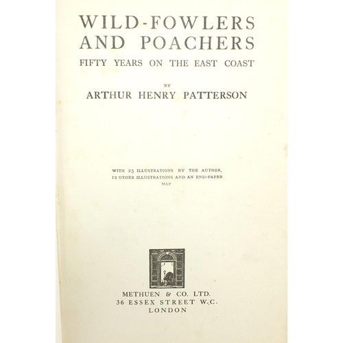 1562 - Fly Fishing by Sir Edward Grey together with Wild-Fowlers and Poachers, 50 Years on the East Coast b...