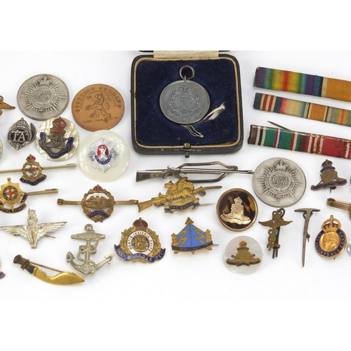 55 - British militaria including a World War I Victory medal awarded to 44489.2.A.M.C.LAMBERT.R.F.C., bad...