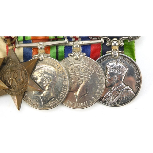 51 - British military six medal group relating to H D Prior of the Royal Sussex Regiment comprising Milit...