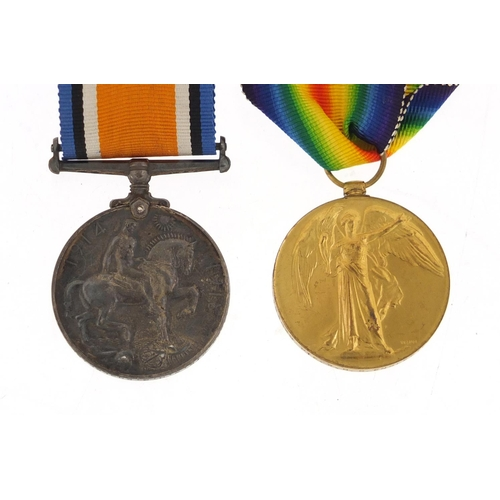 649 - British military World War I pair awarded to M2-183620PTE.W.H.G.ENGLEFIELD A.S.C....
