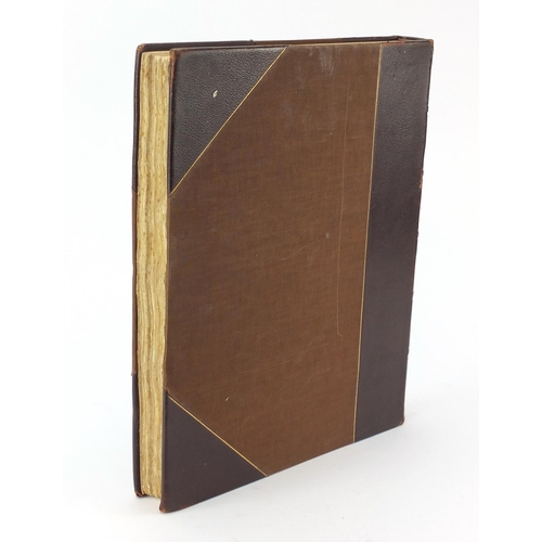 990 - The Collection of Martinware formed by Mr Frederick John Nettlefold, leather bound hardback book...