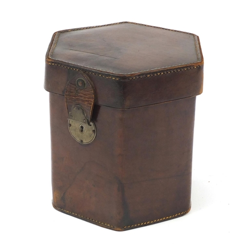 530 - Charles Jeffries, 19th century 39 button concertina with velvet lined case, the concertina having pi...