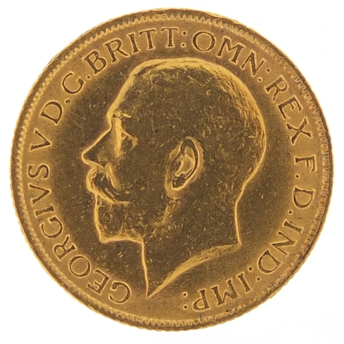 32 - George V 1912 gold sovereign - this lot is sold without buyer's premium, the hammer price is the pri...