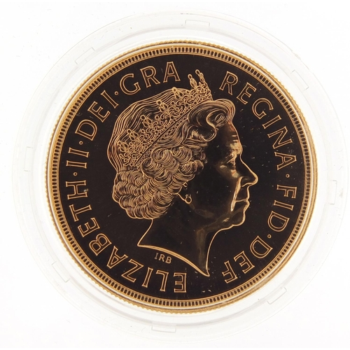 20 - Elizabeth II 2004 Brilliant Uncirculated gold five pound coin with box and certificate number 0272 -...
