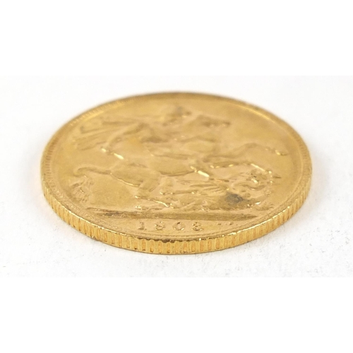 53 - Edward VII 1903 gold sovereign - this lot is sold without buyer's premium, the hammer price is the p...
