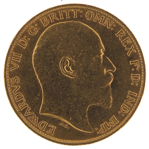 302 - Edward VII 1902 gold half sovereign - this lot is sold without buyer's premium, the hammer price is ...