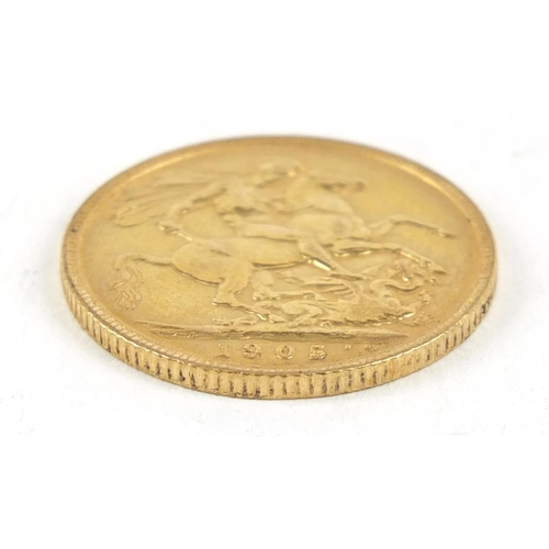 308 - Edward VII 1905 gold sovereign - this lot is sold without buyer's premium, the hammer price is the p...