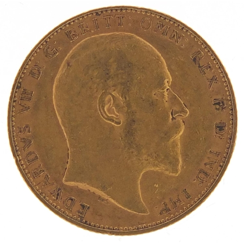353 - Edward VII 1904 gold sovereign - this lot is sold without buyer's premium, the hammer price is the p...