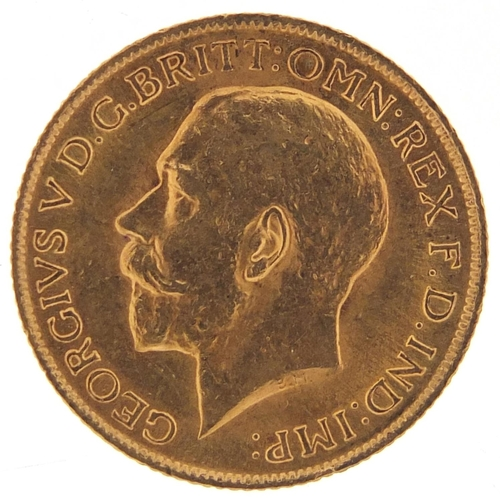 348 - George V 1914 gold sovereign - this lot is sold without buyer's premium, the hammer price is the pri...