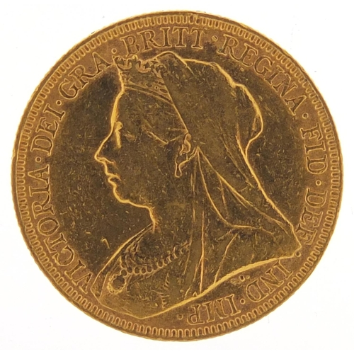 336 - Queen Victoria 1896 gold sovereign - this lot is sold without buyer's premium, the hammer price is t...