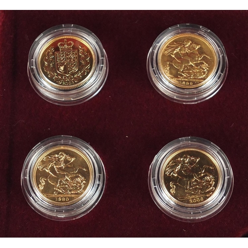 151 - The Historic Sovereign Collection, comprising twelve sovereigns, Queen Victoria to Queen Elizabeth I...
