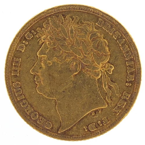 154 - George IV 1824 gold sovereign - this lot is sold without buyer's premium, the hammer price is the pr...