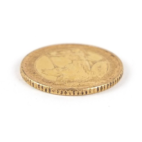 169 - Elizabeth II 1987 gold ten pound coin - this lot is sold without buyer's premium, the hammer price i...