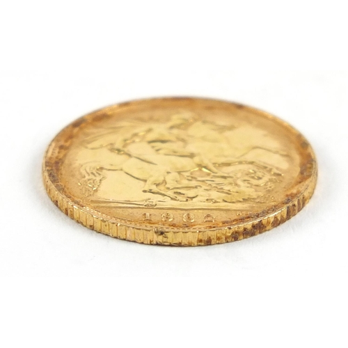 177 - Elizabeth II 1982 gold half sovereign - this lot is sold without buyer's premium, the hammer price i...