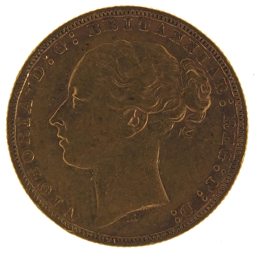 179 - Victoria Young Head 1878 gold sovereign, Melbourne Mint - this lot is sold without buyer's premium, ...