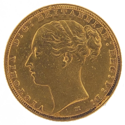 209 - Victoria Young Head 1886 gold sovereign, Melbourne mint - this lot is sold without buyer's premium, ...