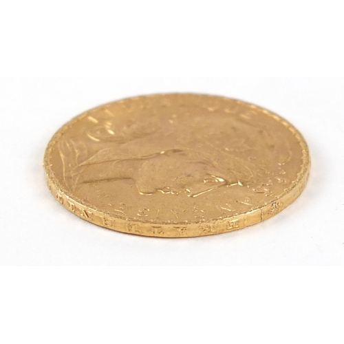 508 - French 1910 gold twenty francs - this lot is sold without buyer's premium, the hammer price is the p...