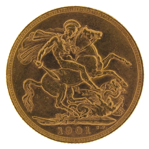 483 - Queen Victoria 1901 gold sovereign, Perth Mint - this lot is sold without buyer's premium, the hamme...