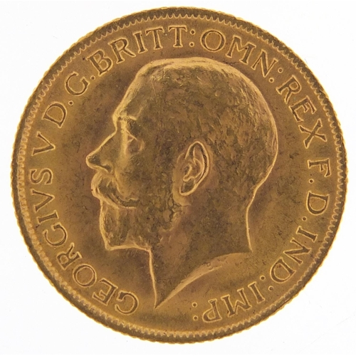 512 - George V 1914 gold sovereign - this lot is sold without buyer's premium, the hammer price is the pri...