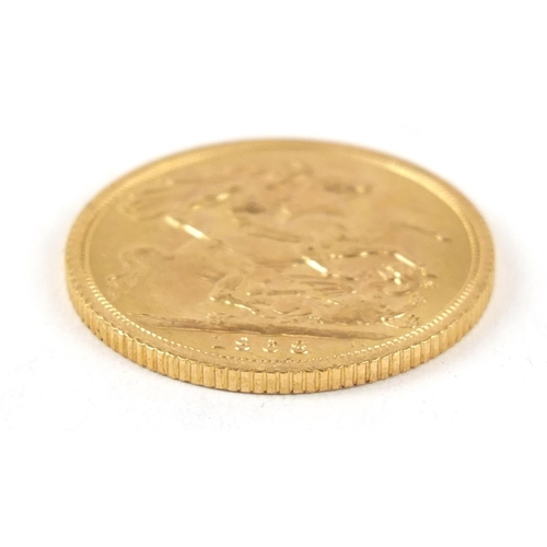 489 - Elizabeth II 1968 gold sovereign - this lot is sold without buyer's premium, the hammer price is the...