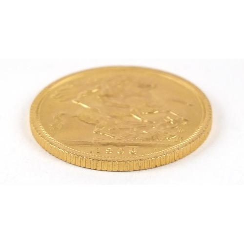 498 - Elizabeth II 1968 gold sovereign - this lot is sold without buyer's premium, the hammer price is the...