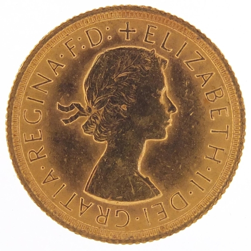 521 - Elizabeth II 1966 gold sovereign - this lot is sold without buyer's premium, the hammer price is the...