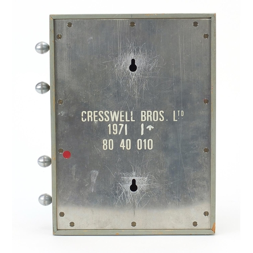 49 - 1970's roller wall calendar by Cresswell Bros Ltd dated 1971, 27.5cm x 20.5cm...