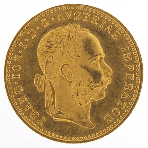682 - Austrian 1915 gold one ducat - this lot is sold without buyer's premium, the hammer price is the pri...