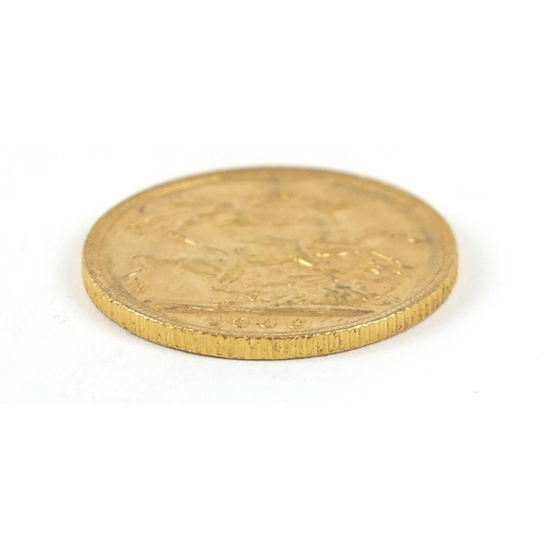 672 - Edward VII 1906 gold sovereign - this lot is sold without buyer's premium, the hammer price is the p...