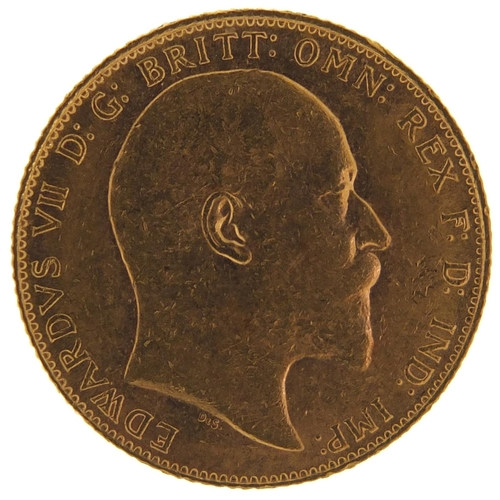 661 - Edward VII 1910 gold sovereign - this lot is sold without buyer's premium, the hammer price is the p...