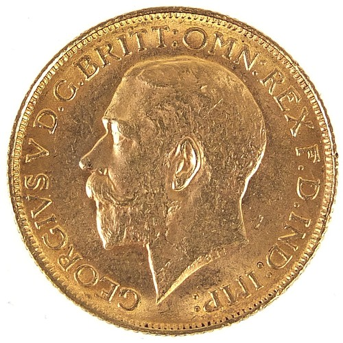 658 - George V 1911 gold sovereign - this lot is sold without buyer's premium, the hammer price is the pri...