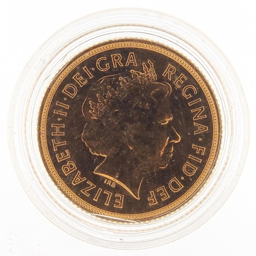 684 - Elizabeth II 2006 gold sovereign - this lot is sold without buyer's premium, the hammer price is the...