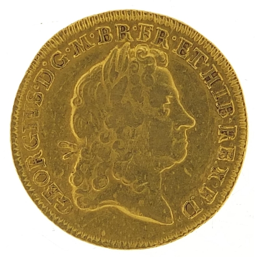 655 - George I 1715 gold guinea, 8.3g - this lot is sold without buyer's premium, the hammer price is the ...