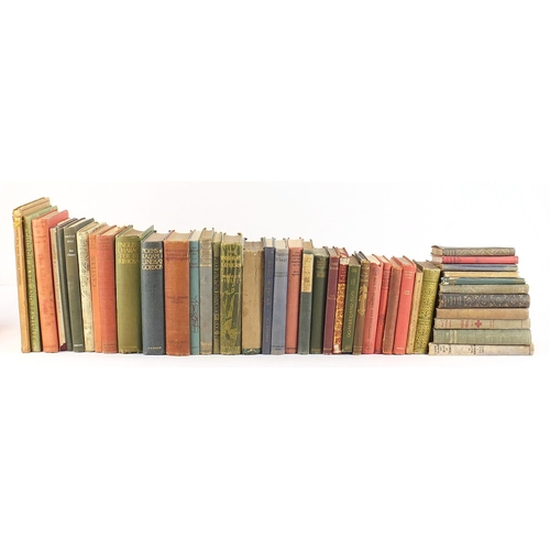 Antique and later hardback books including How to Make the Best of Things by W Heath Robinson and Cecil Hunt and Poems of Adam Lindsay Gordon