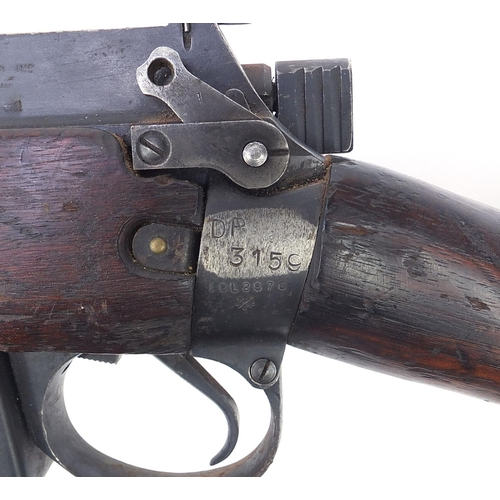 3531 - ** WITHDRAWN ** 19th century Enfield 303 and action rifle, 112.5cm in length
