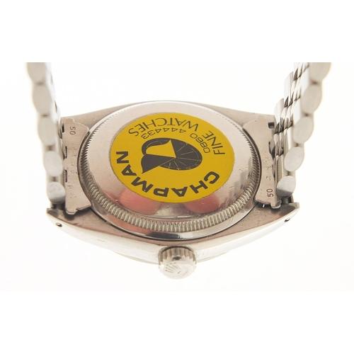 50 - Rolex, gentlemen's Oysterdate Perpetual Date wristwatch, model 1500, serial number 2282229, 34mm in ...